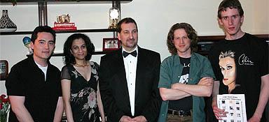 the nin hotline at the rms music society awards