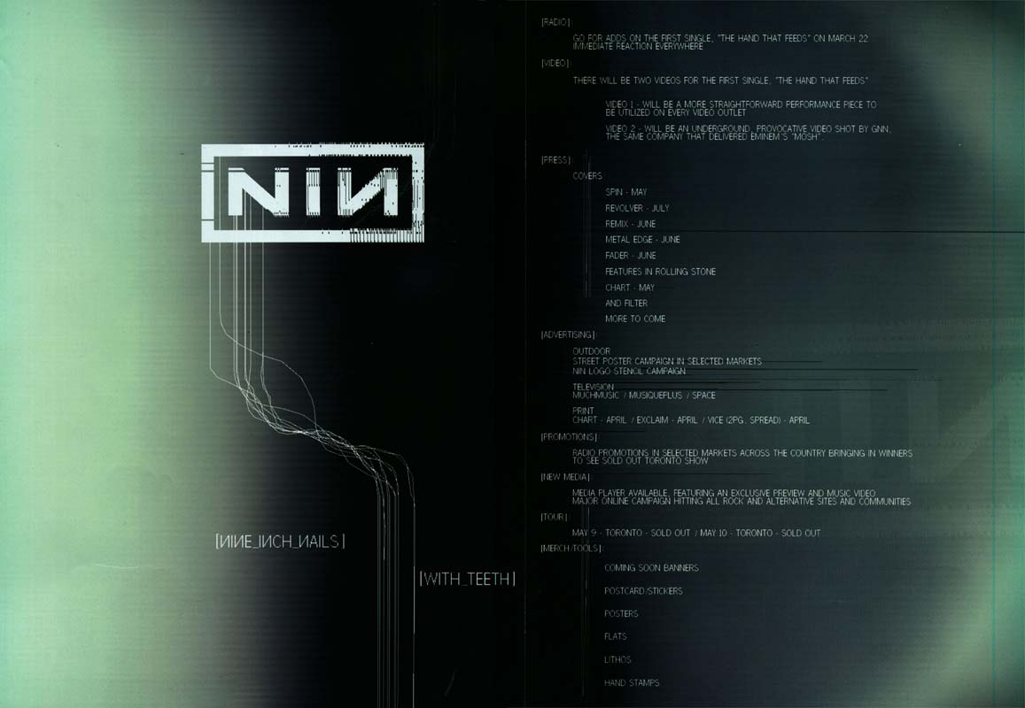 News About Nine Inch Nails And