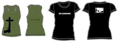 Year Zero shirts
