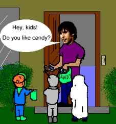 Kids Stealing Candy